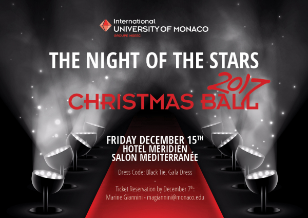 Christmas Ball 2018 - December 15th!