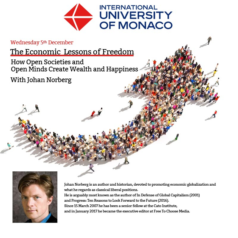 The Economic Lessons of Freedom - Johan NORBERG
