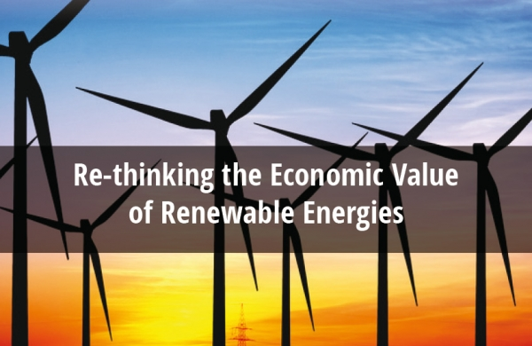 Re-thinking the Economic Value of Renewable Energies