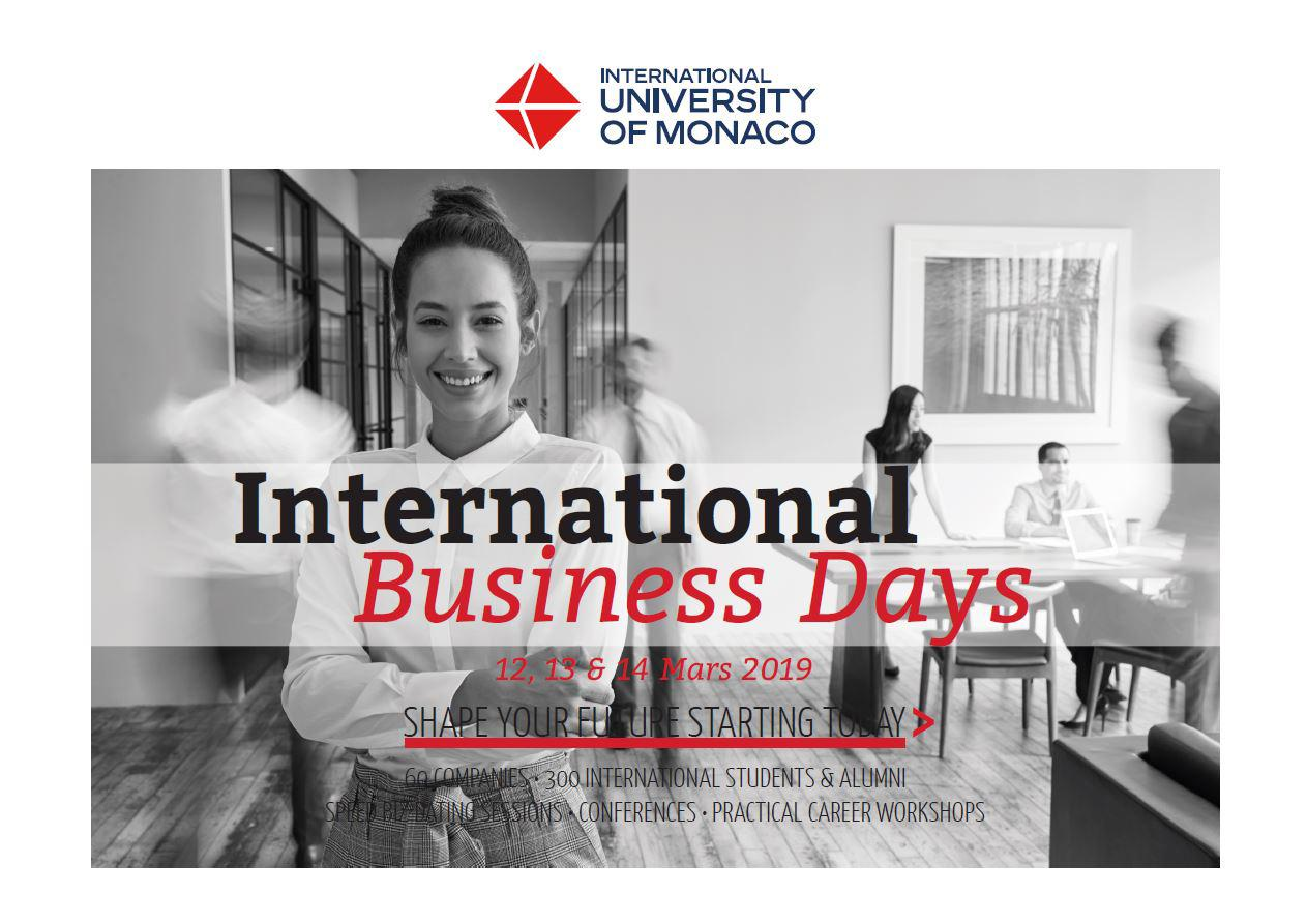 International Business Days - Save the Date!