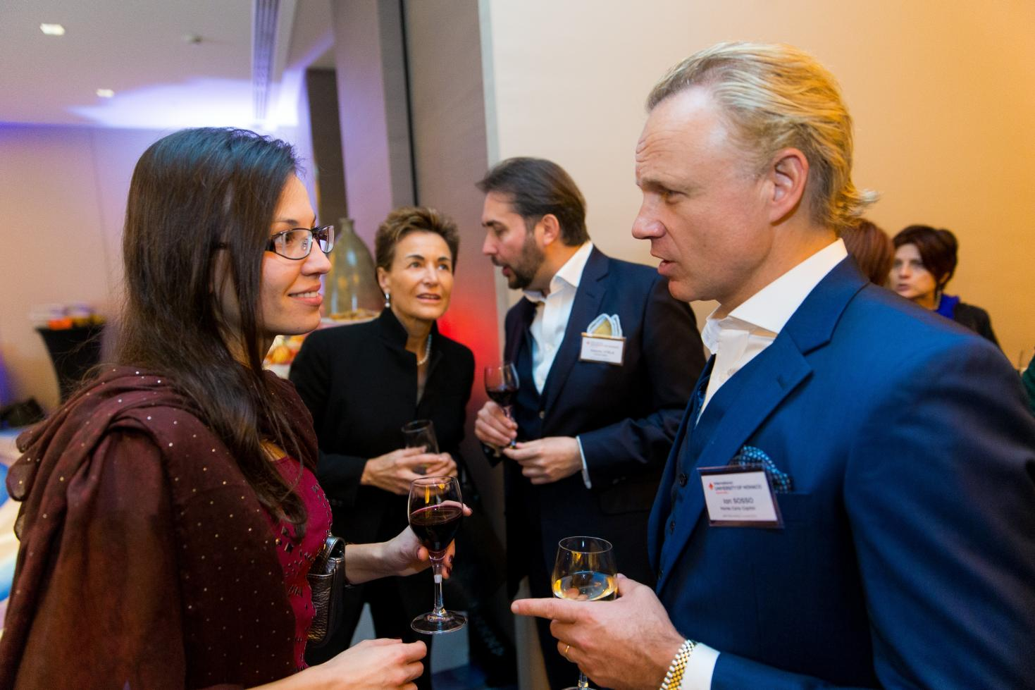 Save the Date - Networking Cocktail Party 2020 + Visit IUM new building